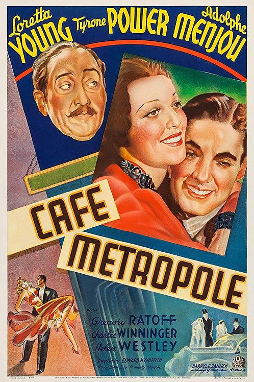 CAFÉ METRÓPOLE (Cafe Metropole, 1937)