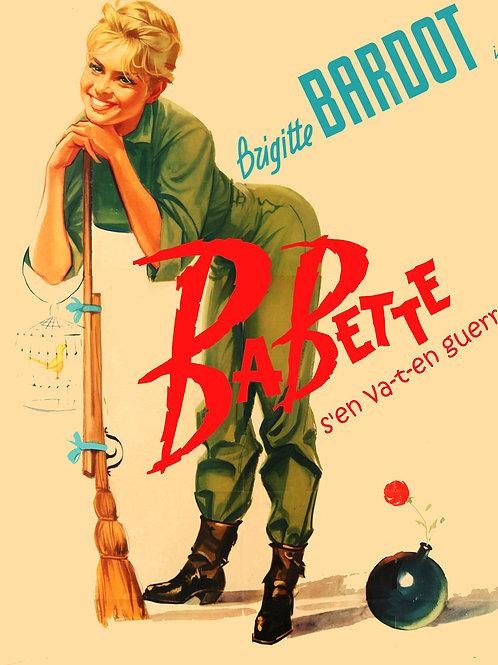 BABETTE VAI À GUERRA (Babette S'en Va-t-en guerre, 1959)
