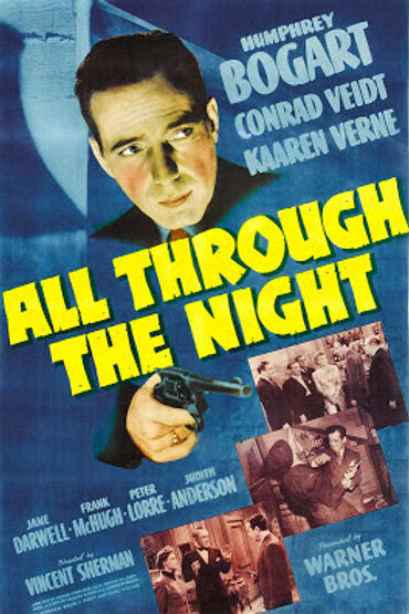 BALAS CONTRA A GESTAPO (All Through The Night, 1941)