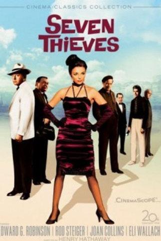 SETE LADRÕES (Seven Thieves, 1960) bluray