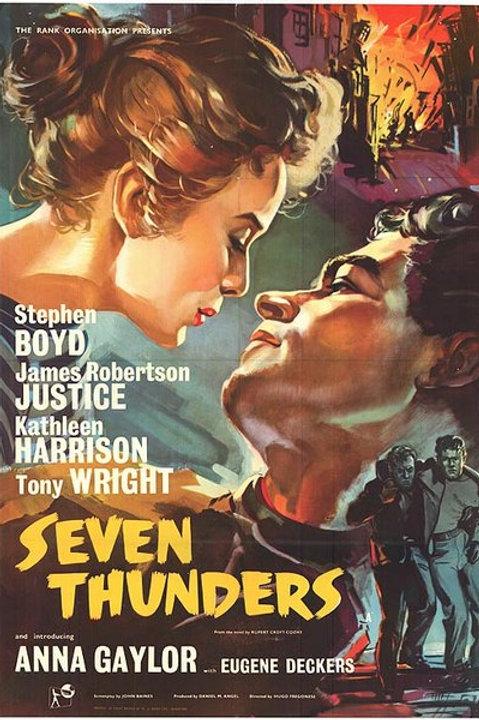 FUGINDO À TEMPESTADE (Seven Thunders, 1957)
