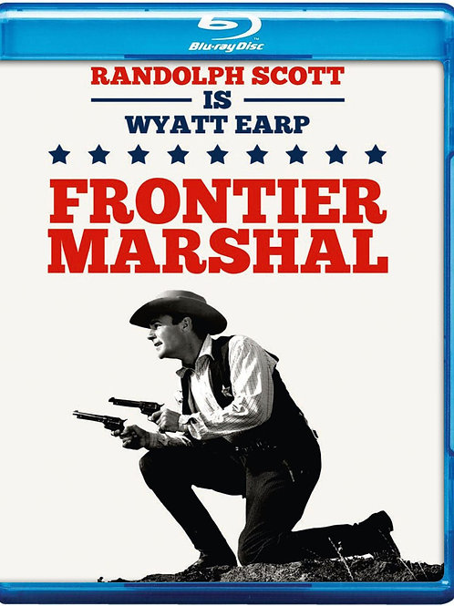 A LEI DA FRONTEIRA (Frontier Marshal, 1939) Blu-ray