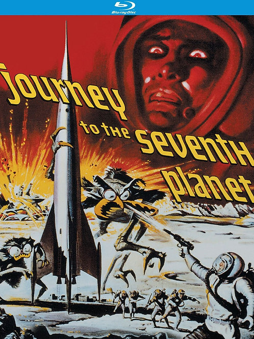 MONSTRO DO PLANETA PERDIDO (Journey To The Seventh Planet, 1962) Bluray