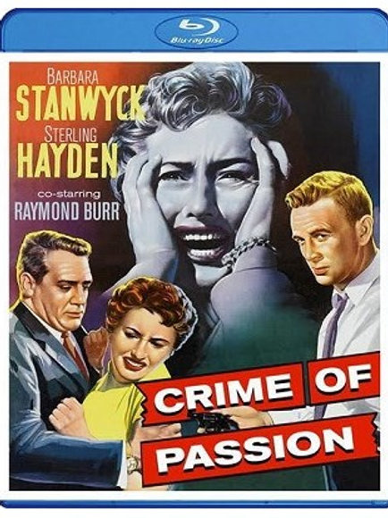 DA AMBIÇÃO AO CRIME (Crime of Passion, 1957)  Bluray