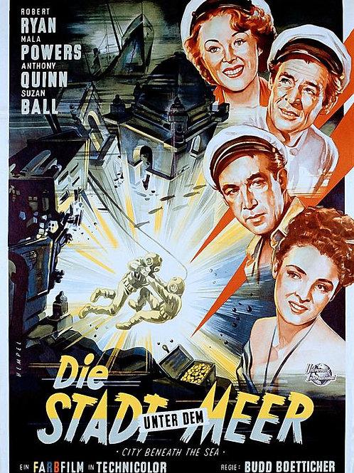 CIDADE SUBMERSA (City Beneath the Sea, 1953)