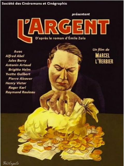 O DINHEIRO (L'Argent, 1928) Blu-ray