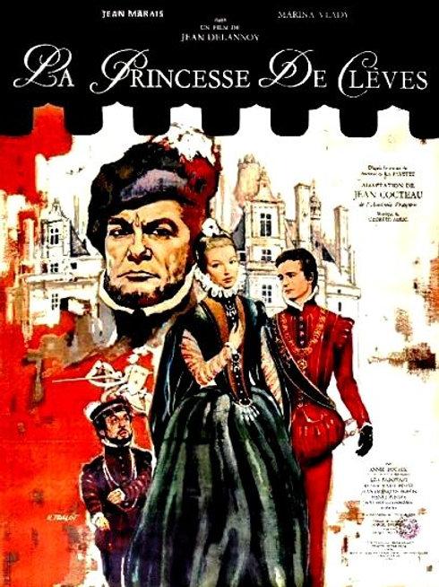 A PRINCESA DE CLEVES (La princesse de Clèves, 1961)