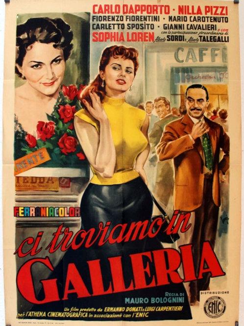 ESTAMOS NA GALERIA (Ci Troviamo in Galleria, 1953)