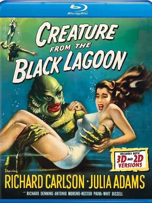 O MONSTRO DA LAGOA NEGRA (Creature Of The Black Lagoon, 1954) Blu-ray