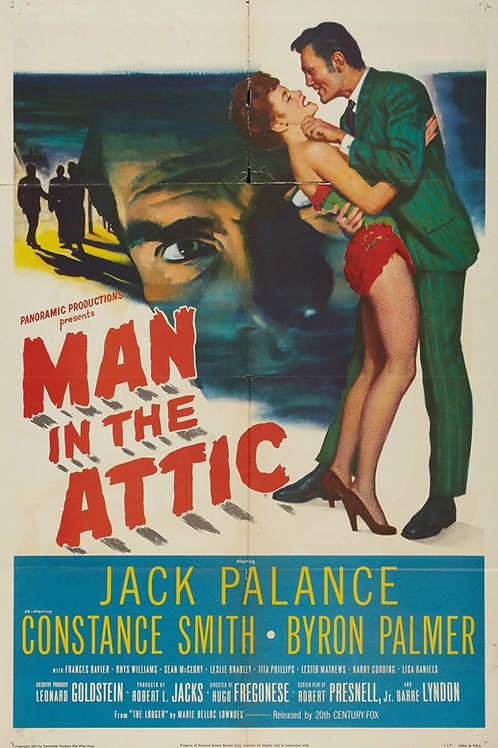 O ESTRANHO INQUILINO (Man in the Attic, 1958)