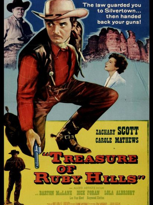 EPOPÉIA SANGRENTA (Treasure of Ruby Hills, 1955)