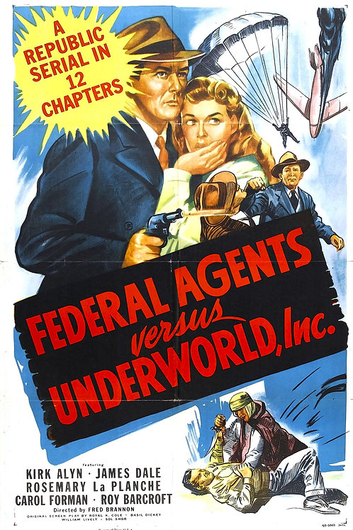 O SEGREDO DOS TÚMULOS (Federal Agents Versus Underworld, Inc, -1949)