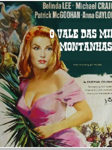 O VALE DAS MIL MONTANHAS (Nor The Moon By Night, 1958)