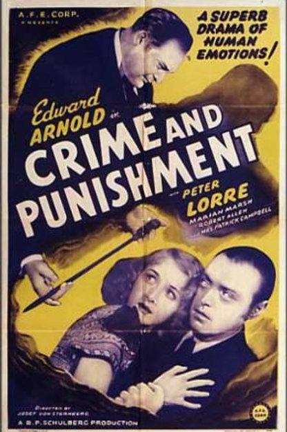 CRIME E CASTIGO (Crime and Punishment, 1935)