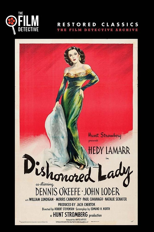 MULHER CALUNIADA (Dishonored Lady, 1947)