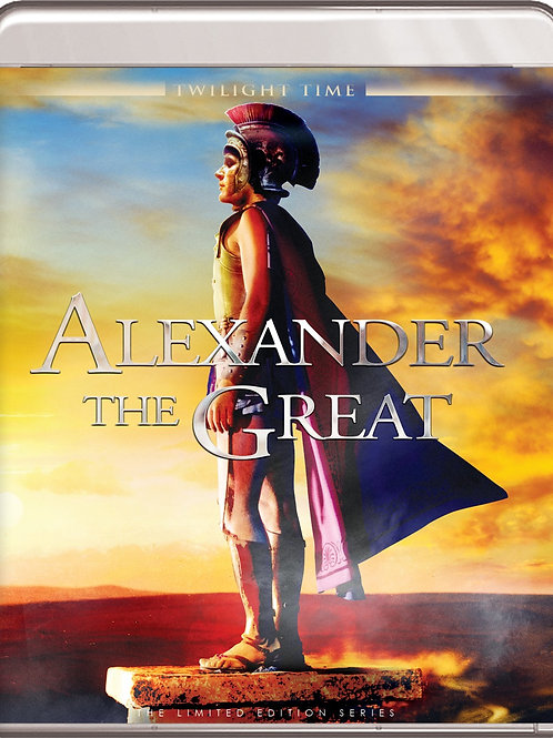 ALEXANDRE MAGNO (Alexander The Great, 1956) Blu-ray