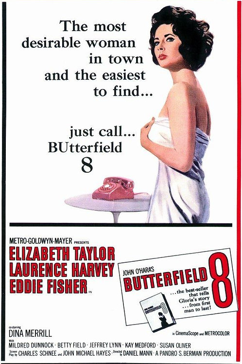 DISQUE BUTTERFIELD 8 (Butterfield 8, 1960)