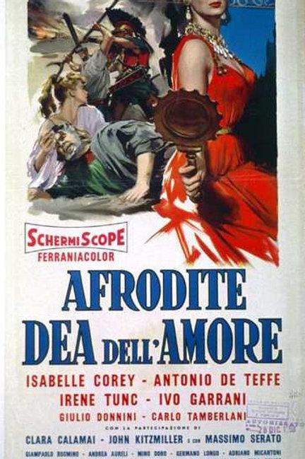 A ESCRAVA DO ORIENTE (Afrodite Dea Dell'Amore, 1958)