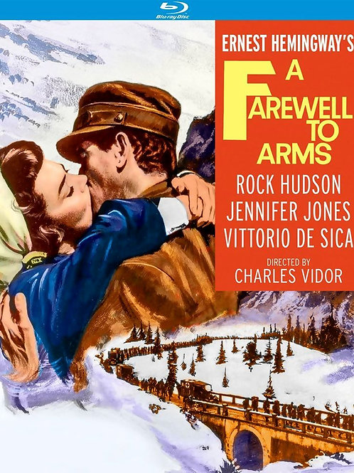 ADEUS ÀS ARMAS  (A Farewell To Arms, 1957) - Blu-ray