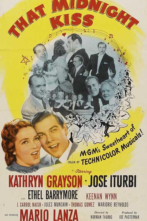 AQUELE BEIJO À MEIA-NOITE (That Midnight Kiss, 1949)