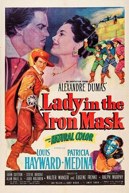A ESPADA DOS MOSQUETEIROS (Lady In The Iron Mask, 1952)