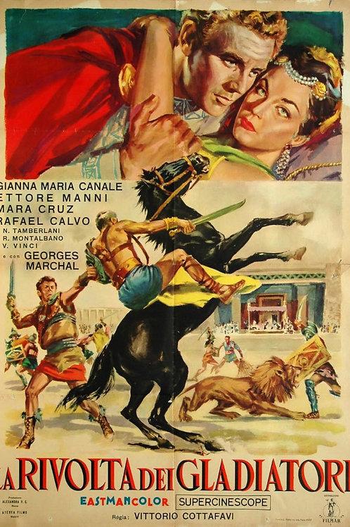A REVOLTA DOS GLADIADORES (La Rivolta dei Gladiatori, 1958))
