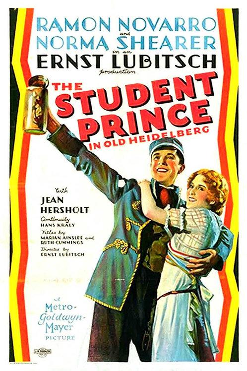 O PRÍNCIPE ESTUDANTE (The Student Prince In Old Heidelberg, 1927)