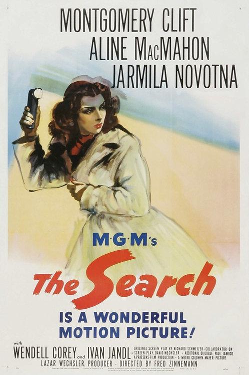 PERDIDOS NA TORMENTA (The Search, 1948)