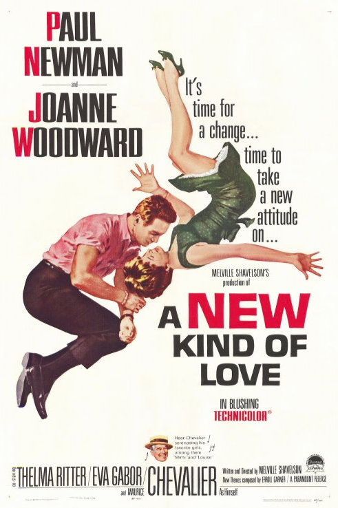 AMOR DAQUELE JEITO (A New Kind of Love, 1963)