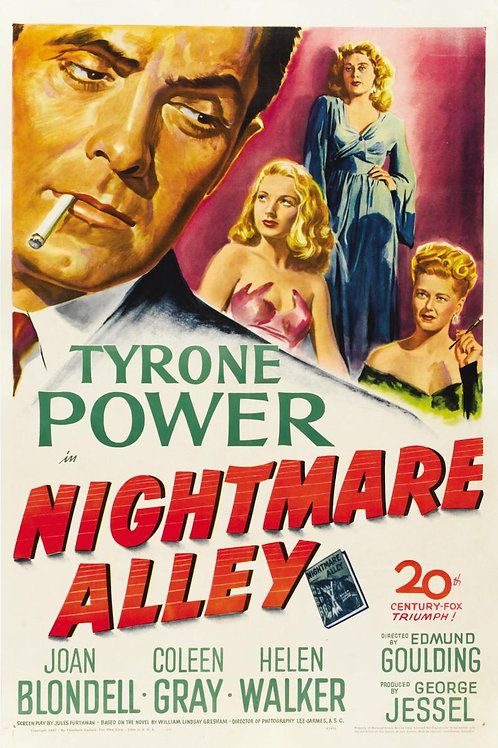 O BECO DAS ALMAS PERDIDAS (Nightmare Alley, 1947)