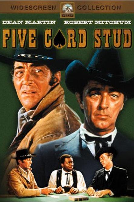 POQUER DE SANGUE (Five Card Stud, 1968)