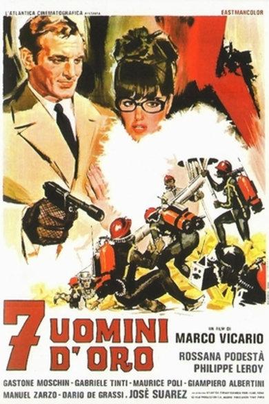 7 HOMENS DE OURO (7 Uomini d'oro, 1965) Bluray
