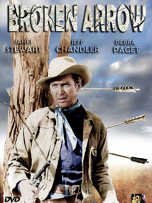 FLECHAS DE FOGO (Broken Arrow, 1950) Bluray