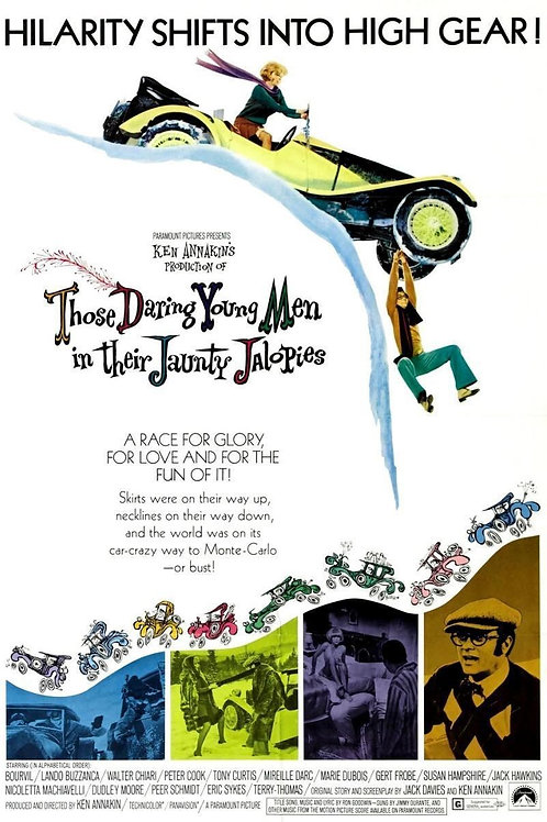 Os Intrépidos Homens em Seus Calhambeques Maravilhosos (Monte Carlo or Bust1969)