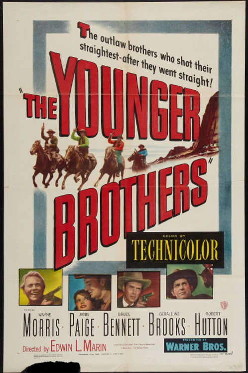 INFERNO OU GLÓRIA (The Younger Brothers, 1949)
