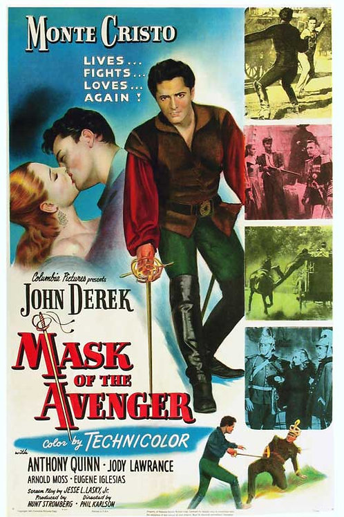 A MÁSCARA DO VINGADOR (Mask of the Avenger, 1951)