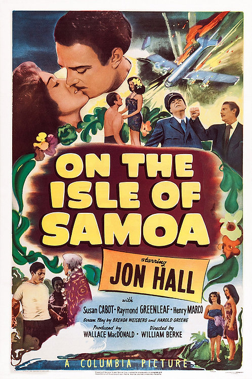 SAMOA (On The Isle of Samoa, 1950)