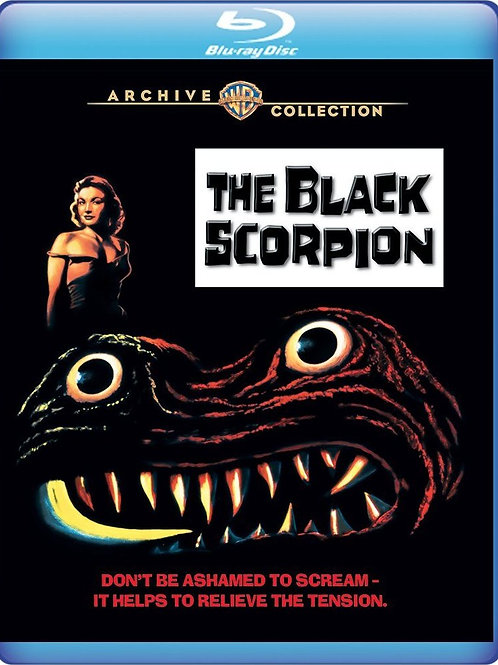 O ESCORPIÃO NEGRO (The Black Scorpion, 1957) Bluray