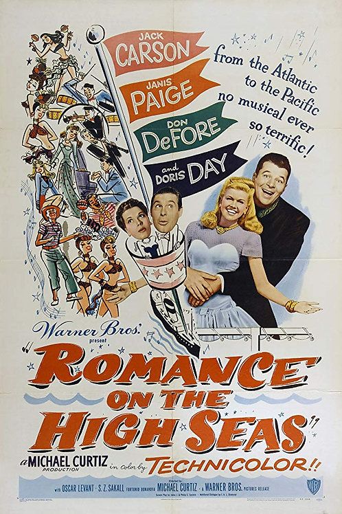ROMANCE EM ALTO MAR (Romance On The High Seas, 1948)