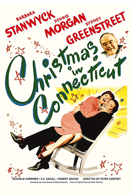 INDISCRIÇÃO (Christmas In Connecticut, 1945)