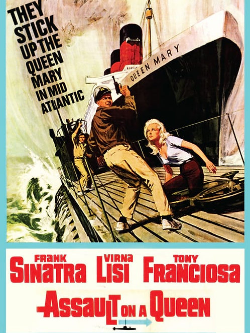 ASSALTO A UM TRANSATLÂNTICO (Assault on a Queen, 1966)