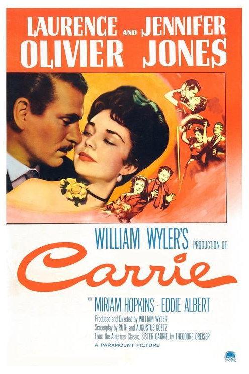 PERDIÇÃO POR AMOR (Carrie, 1952)