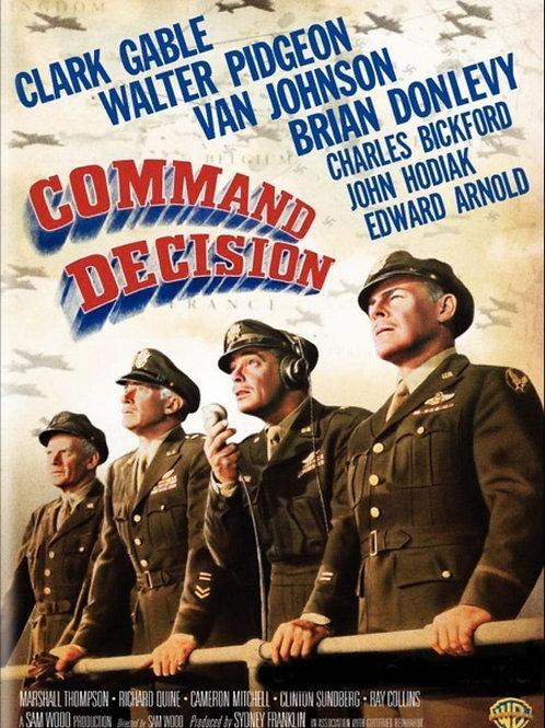 TRÁGICA DECISÃO (Command Decision, 1948)