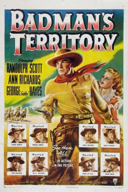 A TERRA DOS HOMENS MAUS (Badman's Territory, 1946)