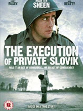 A EXECUÇÃO DO SOLDADO SLOVIK (The Execution of Private Slovik, 1974)