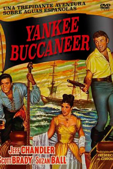 O CAPITÃO PIRATA (Yankee Buccaneer, 1952)