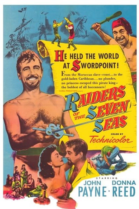 CORSÁRIO DOS SETE MARES (Raiders of the Seven Seas, 1953)