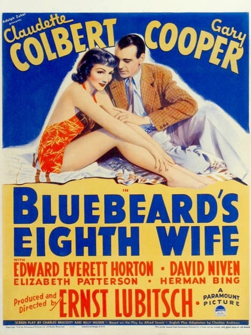 A OITAVA ESPOSA DE BARBA-AZUL (Bluebeard eight Wife, 1938)