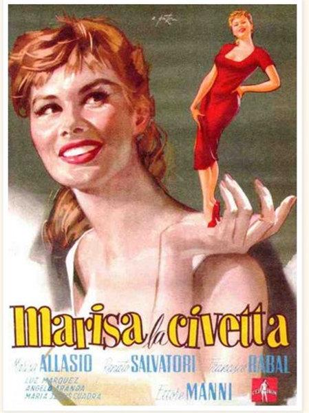 NAMOROS DE MARISA (Marisa la Civetta, 1957)