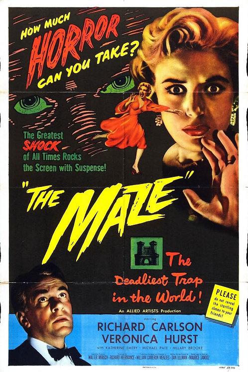 O LABIRINTO (The Maze, 1953)